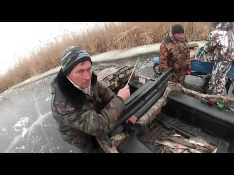 Зимняя рыбалка в астрахани 2014