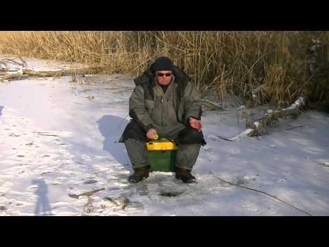 Зима на о Колочный