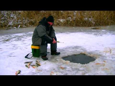 Зимняя рыбалка (красноперка), декабрь 2016