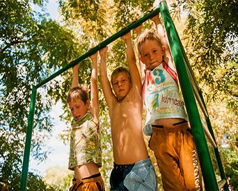 детский отдых в Астрахани Остров Колочный