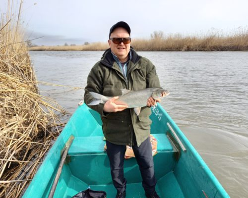 рыбалка на жереха в апреле в Астрахани Остров Колочный