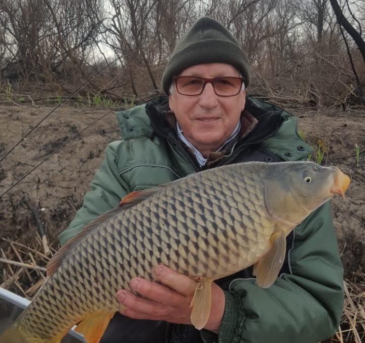 трофейная рыбалка на сазана в апреле Остров Колочный