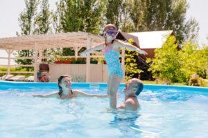 летний отдых на базе Остров Колочный